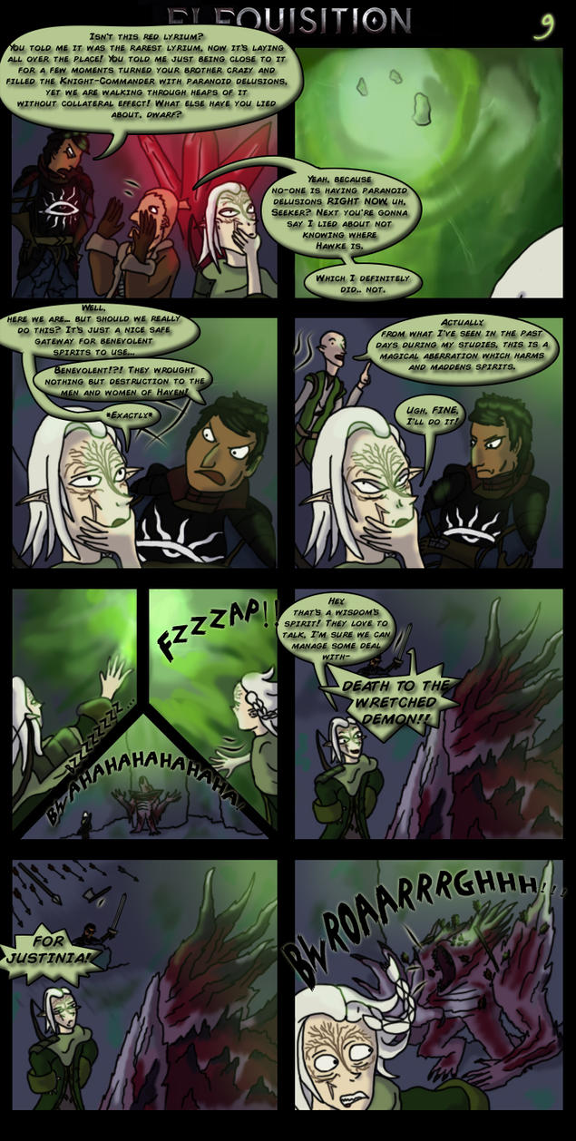 Dragon Age: Elfquisition - Page 9 by Silfae