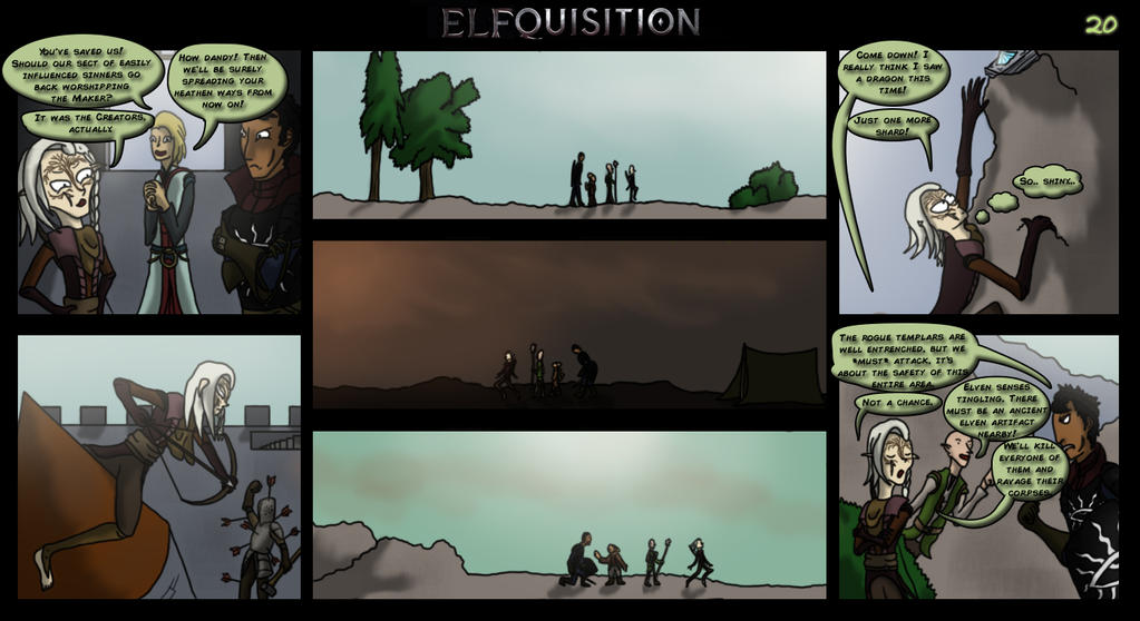 Dragon Age: Elfquisition - Page 20 by Silfae