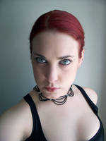 Black Necklace III by fetishfaerie-stock