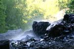 Beneath the Waterfall I