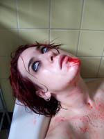 Blood Shower VI by fetishfaerie-stock