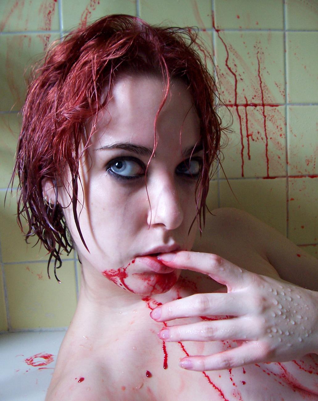 Blood Shower VIII by fetishfaerie-stock