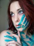 Blue Paint XVIII