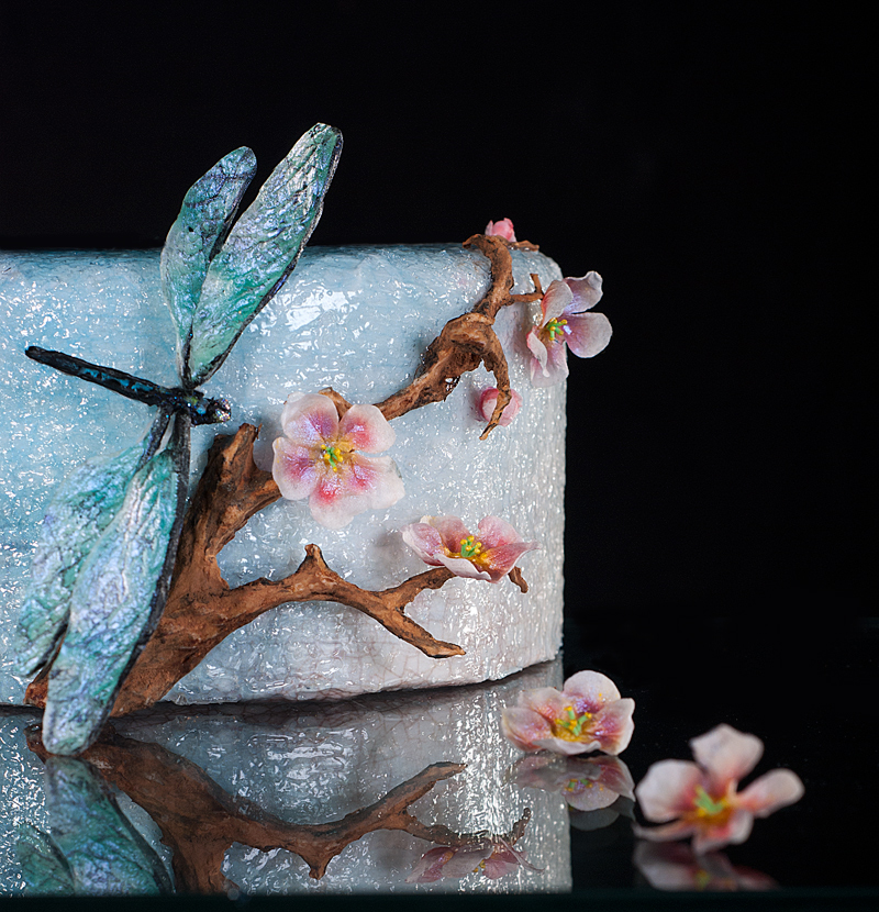 Dragonfly Wedding Cake Toppers