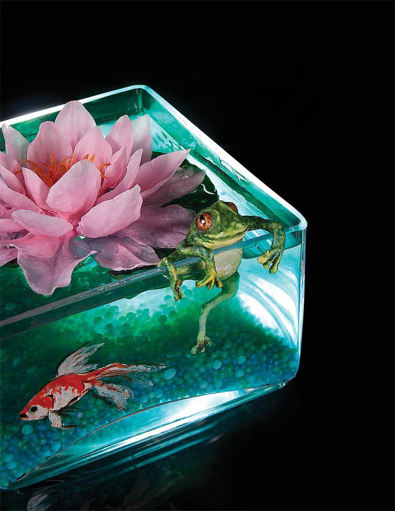 Lotus flower centerpiece by battledress on deviantart