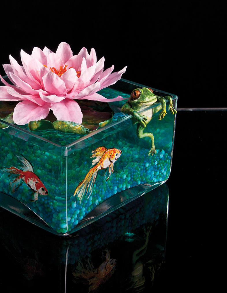 Lotus Flower Centerpiece 2 by Battledress