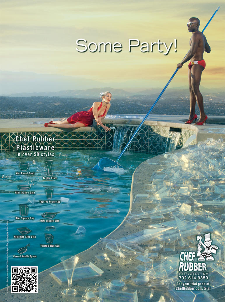 Chef Rubber Ad Pool Party 1 by Battledress