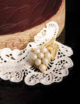 Edible Grape Jewelry and Lace
