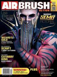 Airbrush Action Magazine Jan/Feb '14 - Cover by Battledress