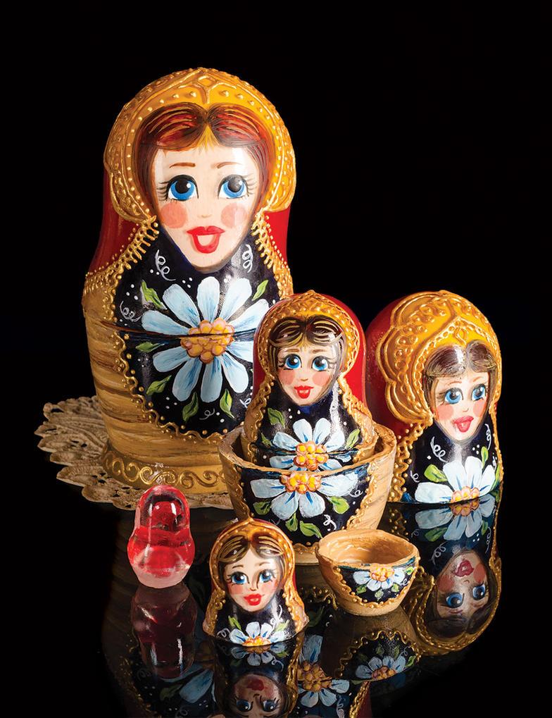 Sugar Matryoshka Set by Battledress