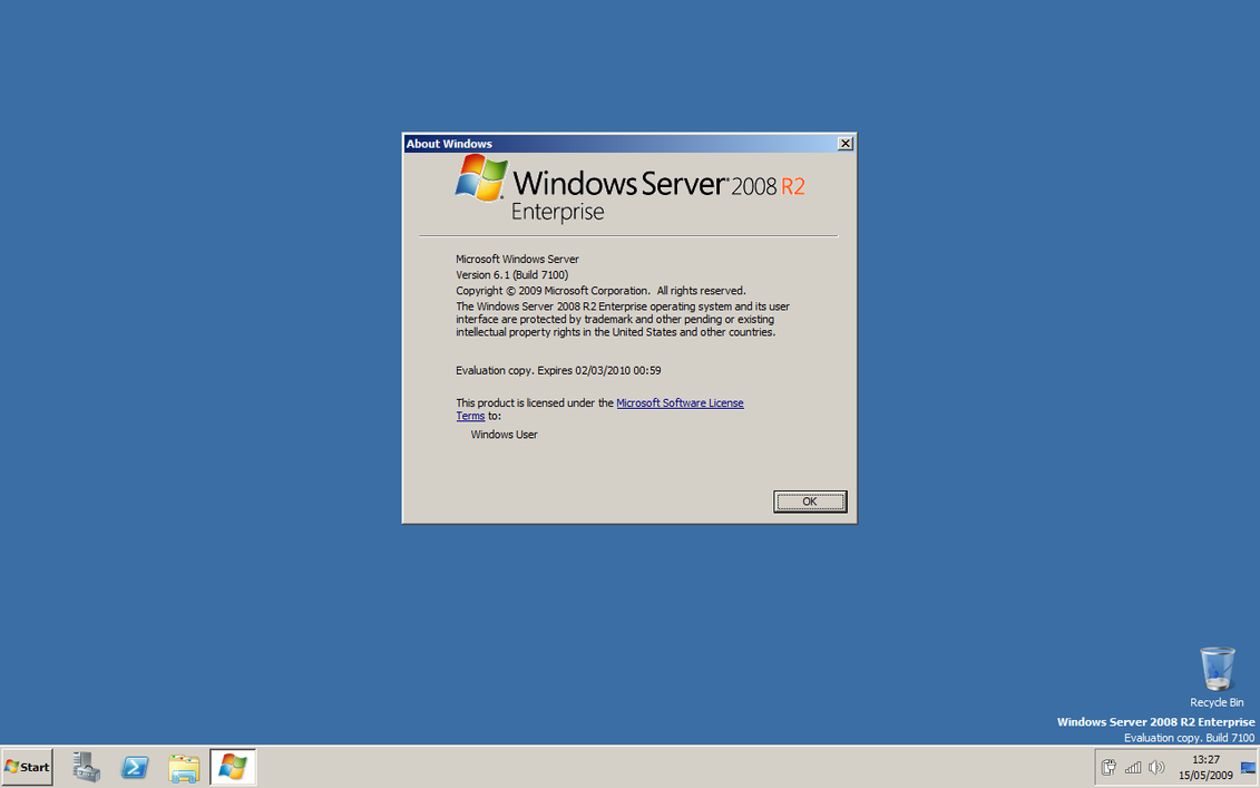 windows server 2008 r2 enterprise evaluation product key