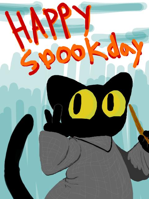 halloween google doodles 1 by Magic-Cat-Academy on DeviantArt