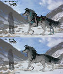 ADOPT - Draught-wolf 1 (CLOSED) by Cestovani99