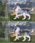 ADOPT - Draught-wolf 2 (CLOSED) by Cestovani99