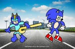 Sonic and Blue Blur-Girl
