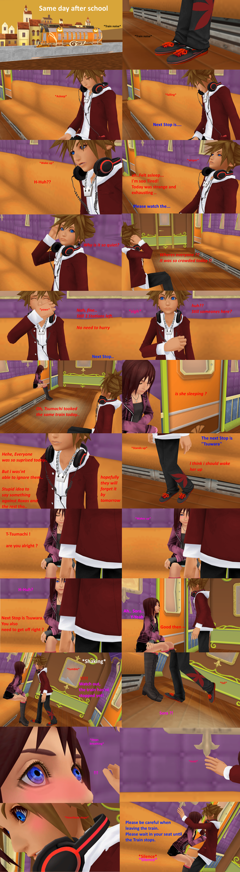 [MMD COMIC] The day we've met [ Part 19] by MischiiOtaku