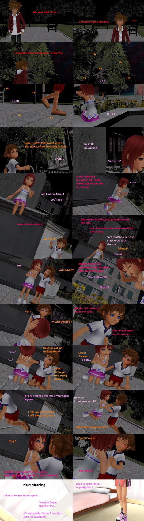 [MMD COMIC] The day we've met [ Part 21] by MischiiOtaku