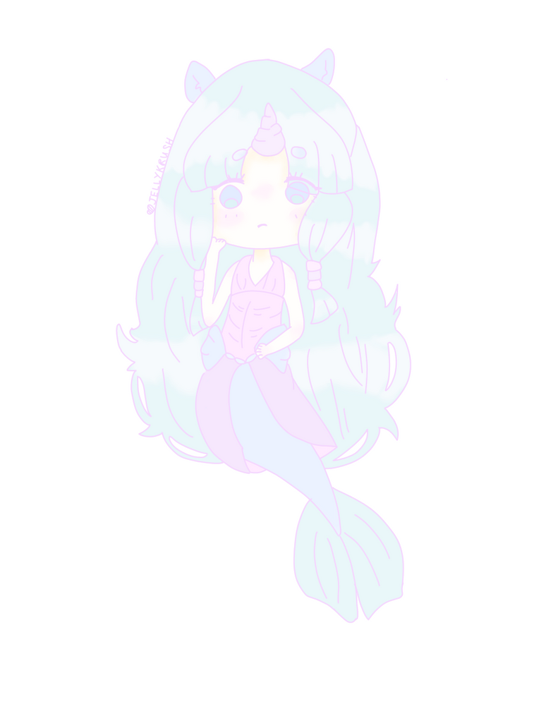 Afpac en ce qui concerne ota pastel mermaid unicorn closedjellykrush on deviantart