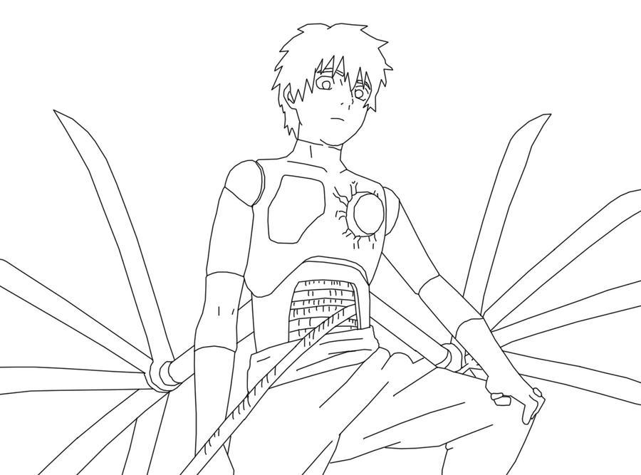 jiraiya coloring pages - zetsu naruto coloring pages coloring pages