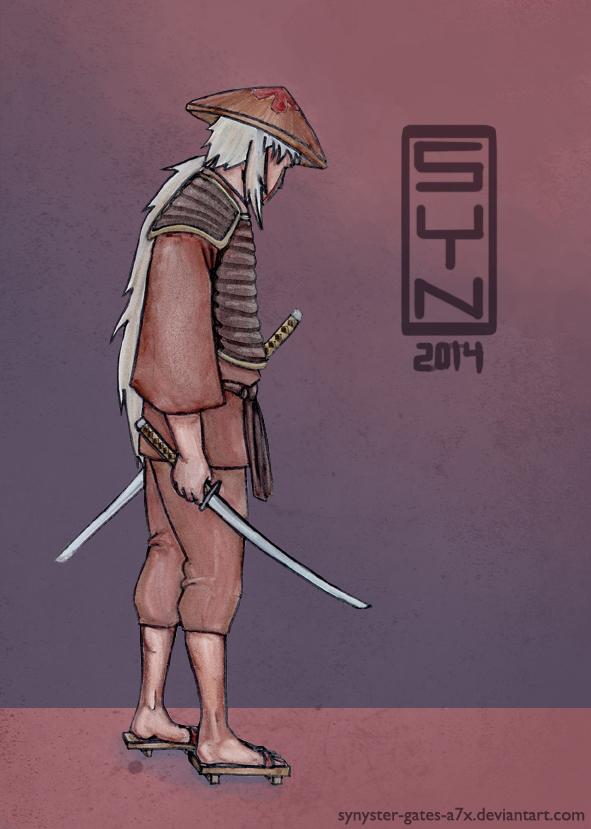 Samurai Jiraiya by synyster-gates-A7X