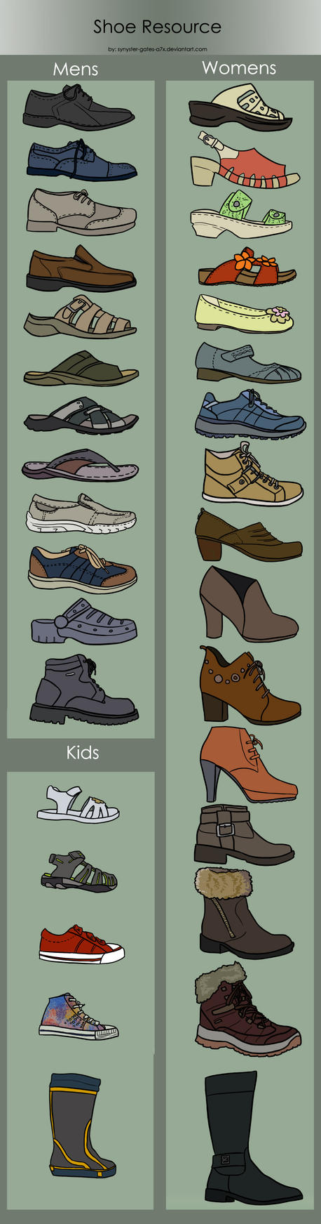 Shoe Resource by synyster-gates-A7X