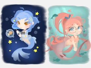 [ Auction CLOSED ] Mermay!