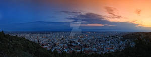 Serres Greece Panorama
