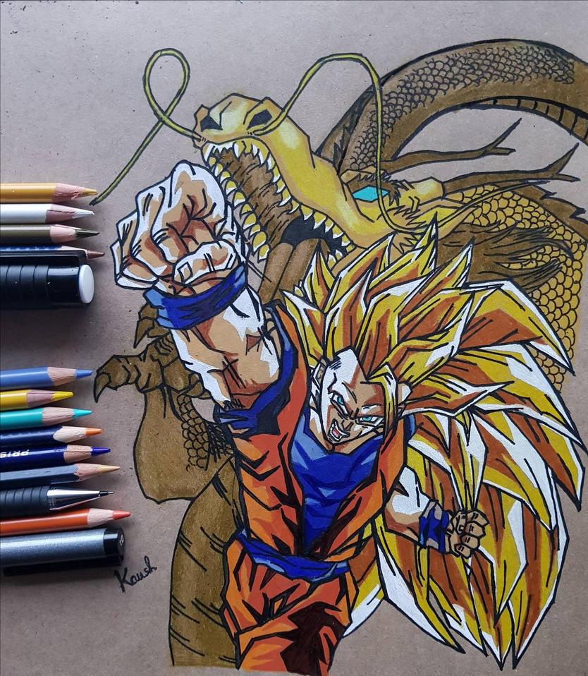 DBZ wrath of the dragon  by kaushikc32