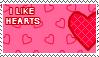 I Like Hearts Stamp by xSweetSlayerx