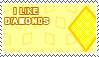 I Like Diamonds Stamp by xSweetSlayerx
