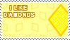 I Like Diamonds Stamp by Blackie0275