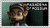 Pasadena O'Possum Stamp by xSweetSlayerx