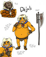 Dejali the Goron by xSweetSlayerx