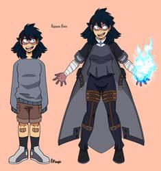 Freezer Burn (MHA AU villain)