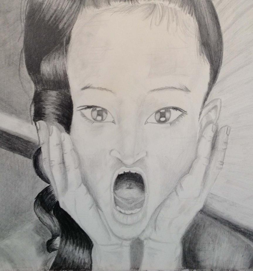 Scream by jenesee