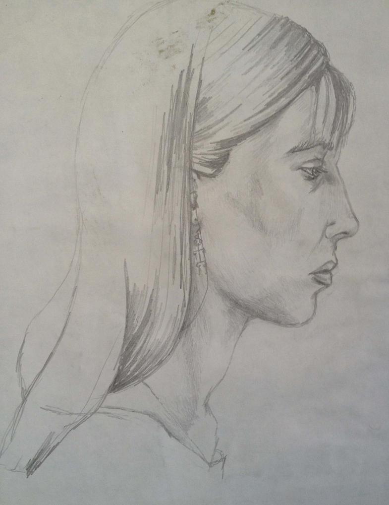 Self Portrait by jenesee