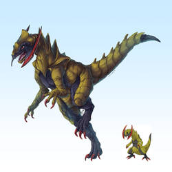 Realistic Pokemon: Haxorus by ReneCampbellArt