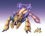 Realistic Pokemon: Galvantula
