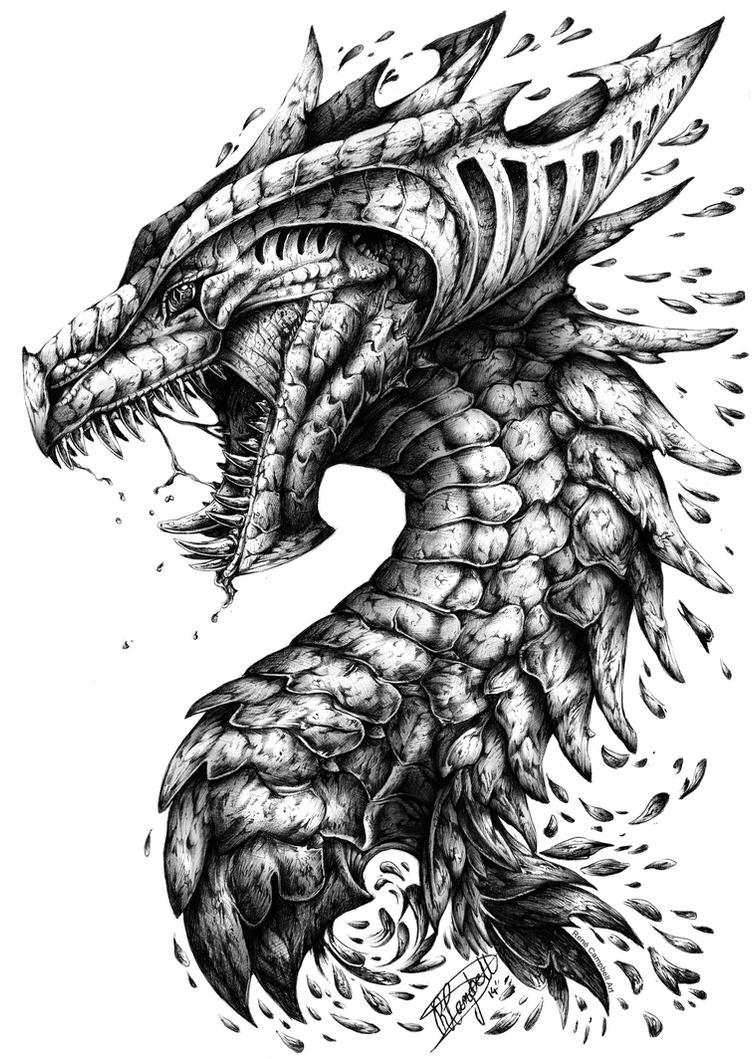 Dragons Outrage By ReneCampbellArt On DeviantArt