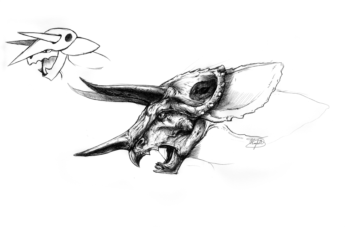 Realistic Aggron Concept by ReneCampbellArt