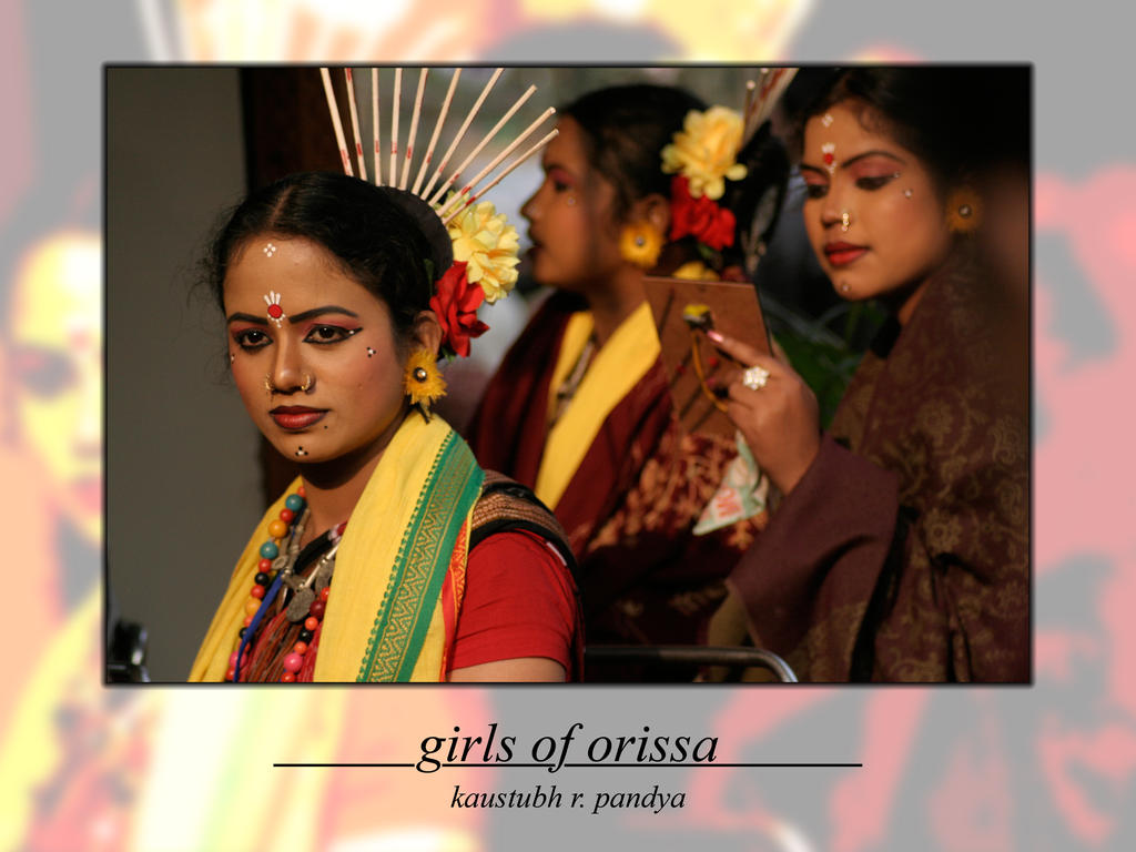 Girls of Orissa 1 by kaustubh2006