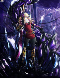 Brave Frontier Fanart: Cataclysm Empress Feeva