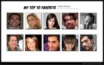 My Favorite 10 Latin Voice Actors by ThunderStormZero
