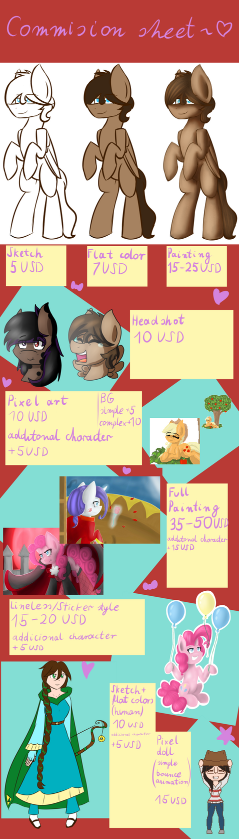 Paypal Commission Sheet by Blairchan231