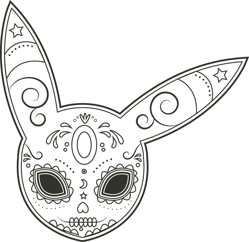 umbreon sugar skull by foxantichrist on deviantart