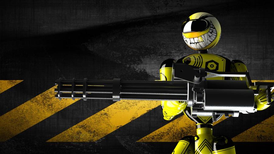 Psycho Robot 2 by kastleone