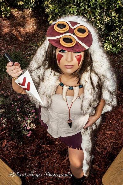 orlando anime day princess mononoke by liyazakicosplay