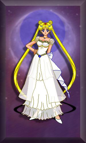 Princess Serenity - Updated by AuroraGriffin