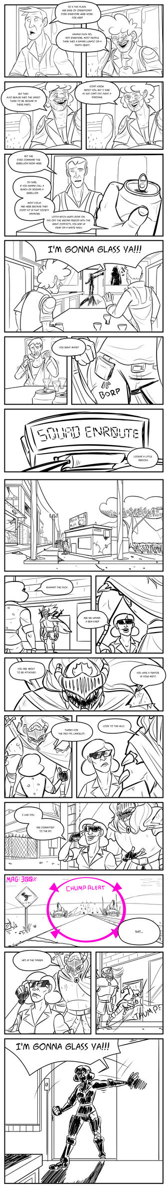 Second Draft OCT - Audition - Page 2 by Angry-Langman