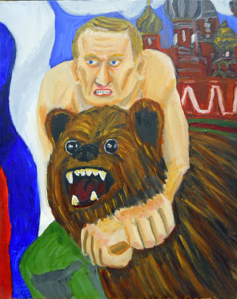 Putin by NichArtri